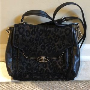 Cheetah Coach Cross Body